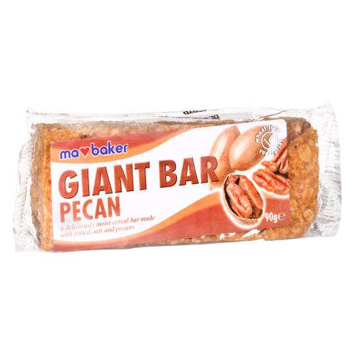 Obří ovesná tyčinka pekanové ořechy MABAKER 90g