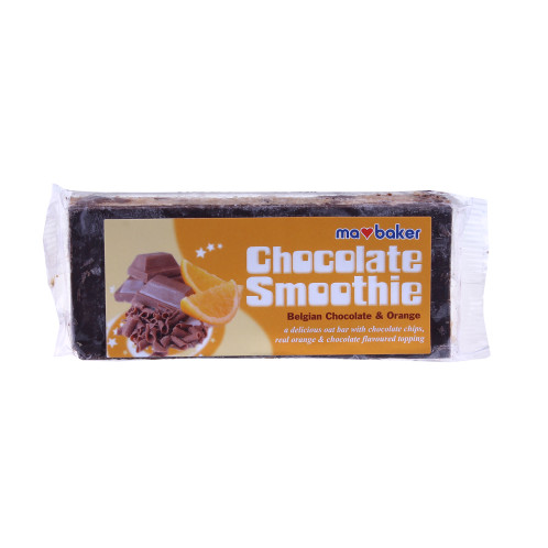Obří čokoládovo-ovesná tyčinka pomeranč MABAKER 100g