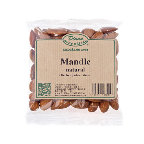 Mandle natural 100g