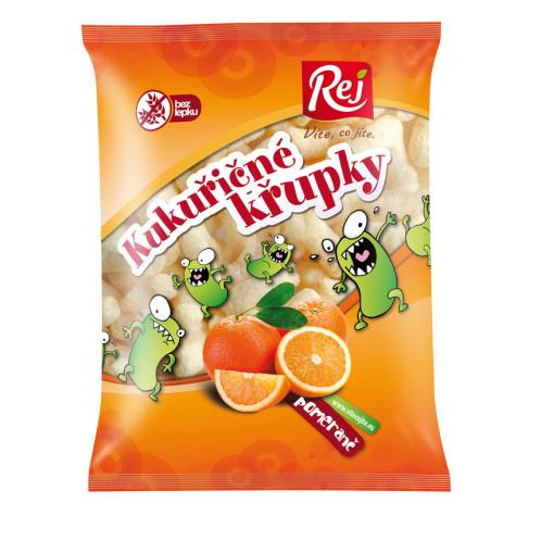 Kukuřičné křupky pomerančové Rej 90g