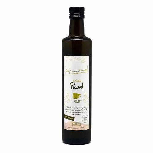 Extra panenský olivový olej nefiltrovaný Picual 500ml