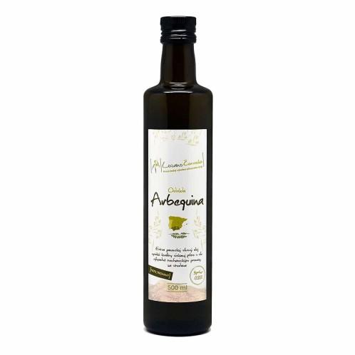 Extra panenský olivový olej nefiltrovaný Arbequina 500ml