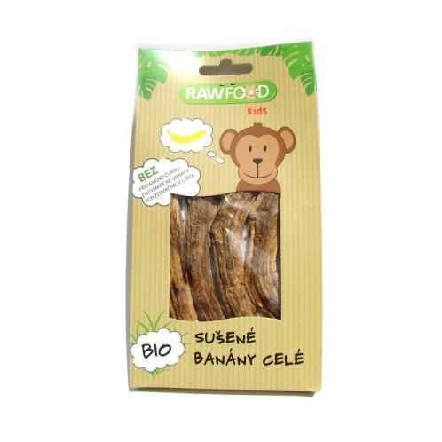 Banány sušené celé bio RAWFOOD 100g