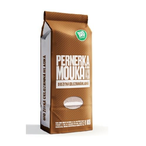 BIO Mouka žitná celozrnná hladká 1kg