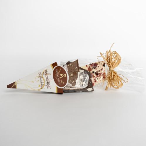Kornout MIX- lámaná Belgická čokoláda s posypem Maršál 150g