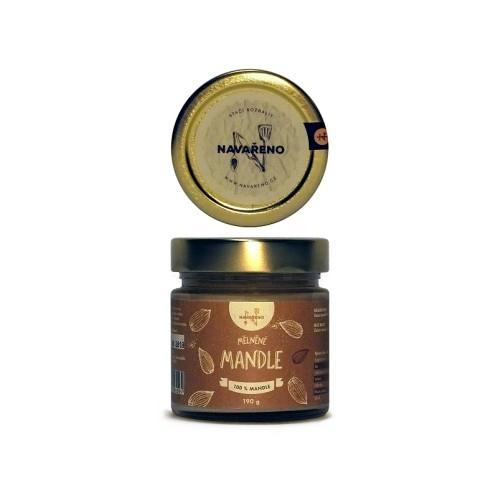 Mandlové máslo NAVAŘENO 190g