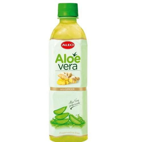 Aloe Vera nápoj s příchutí zázvoru 500ml