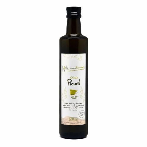 Olivový olej black Picual 500ml