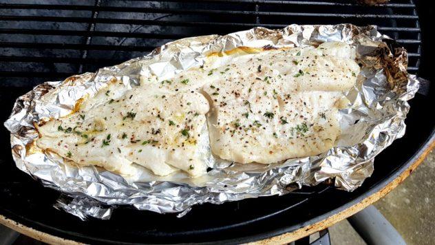 Budoucnost (grilování ryb) patří aluminiu!